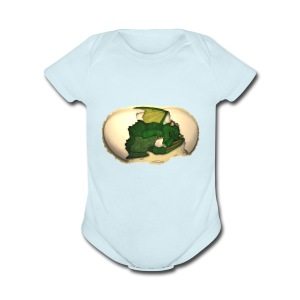 The Emerald Dragon of Nital - Short Sleeve Baby Bodysuit