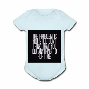 Its a Sad Quote - Short Sleeve Baby Bodysuit