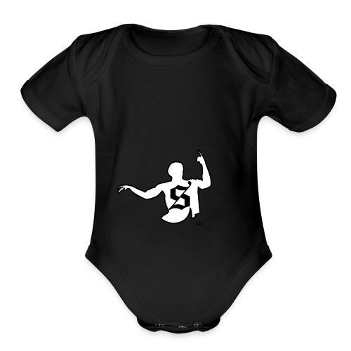 Shockratees - Organic Short Sleeve Baby Bodysuit