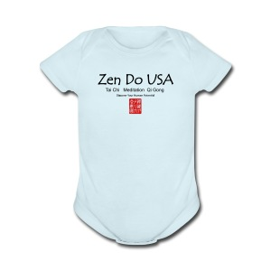 Zen Do USA - Short Sleeve Baby Bodysuit