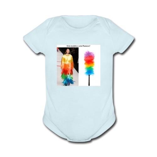 plumero - Organic Short Sleeve Baby Bodysuit