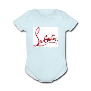 Christian Louboutin T shirts Tee shirts Tees Red B - Short Sleeve Baby Bodysuit