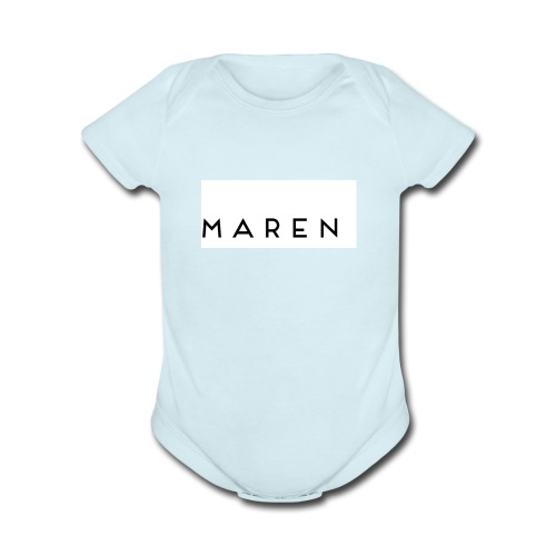 maren - Organic Short Sleeve Baby Bodysuit