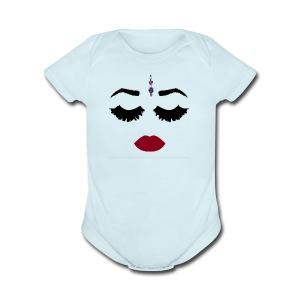 TikkaFace - Short Sleeve Baby Bodysuit