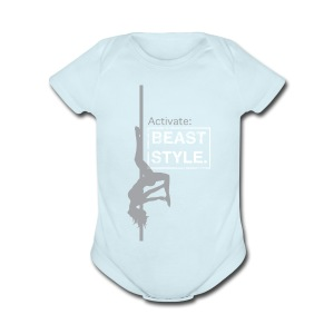 Activate: Beast Style - Short Sleeve Baby Bodysuit