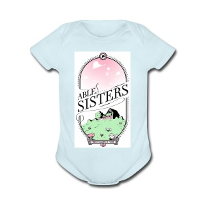 The Able Sisters - Short Sleeve Baby Bodysuit