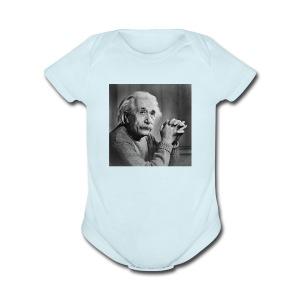 Albert Einstein - Cache-couche à manches courtes