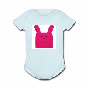 Craftholic Bear - Short Sleeve Baby Bodysuit
