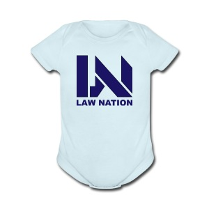 Law Nation - Short Sleeve Baby Bodysuit