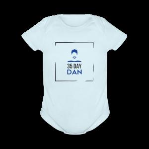 35DD Male - Short Sleeve Baby Bodysuit