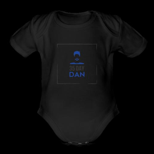 35DD Male - Organic Short Sleeve Baby Bodysuit