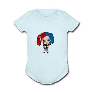 Marley Quinn - Short Sleeve Baby Bodysuit