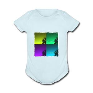 EastCoastAesthetic - Short Sleeve Baby Bodysuit