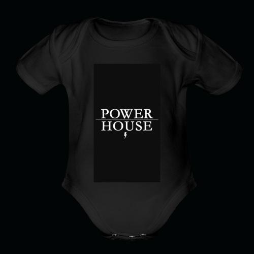 PowerHousGaming - Organic Short Sleeve Baby Bodysuit