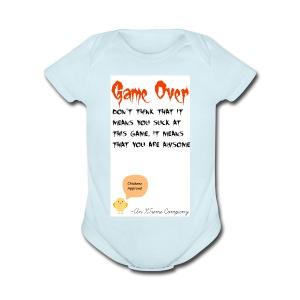 Game Over - Short Sleeve Baby Bodysuit