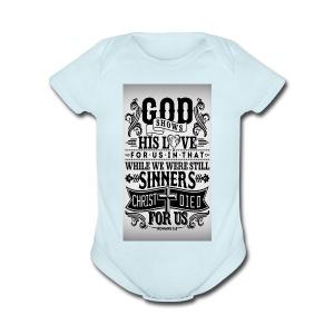 In God We Trust - Short Sleeve Baby Bodysuit