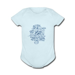 teeshirtblob - Short Sleeve Baby Bodysuit