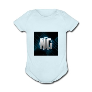 NadhirGamer Merch - Short Sleeve Baby Bodysuit