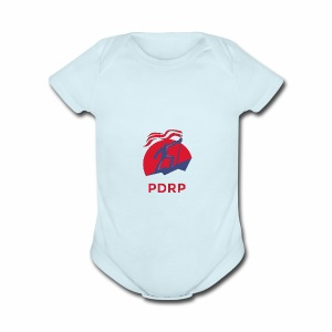 PDRP Official Logo - Short Sleeve Baby Bodysuit