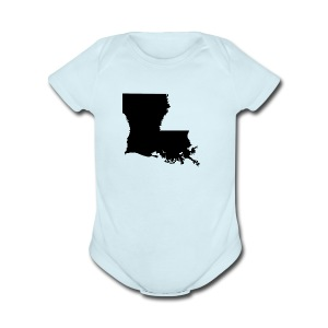 LA LARGE - Short Sleeve Baby Bodysuit