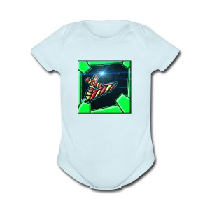 my gd thing - Short Sleeve Baby Bodysuit