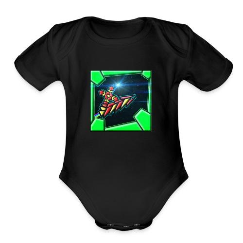 my gd thing - Organic Short Sleeve Baby Bodysuit