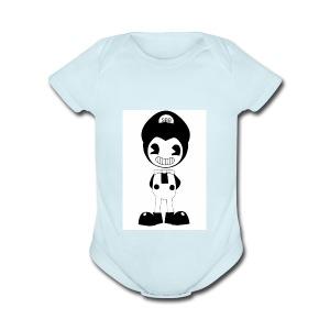 SuperBendyBros Design - Short Sleeve Baby Bodysuit