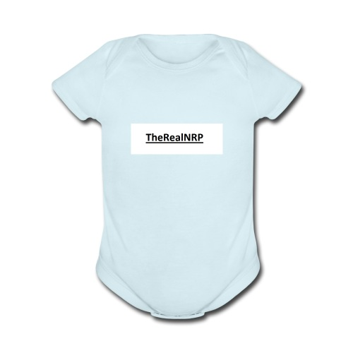 The Real Swag - Organic Short Sleeve Baby Bodysuit