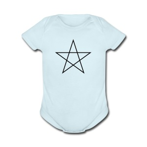 star Artist - Short Sleeve Baby Bodysuit