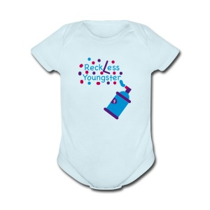 reckless youngster boys - Short Sleeve Baby Bodysuit