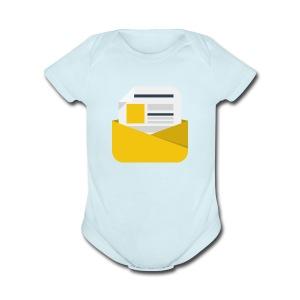 newsletter - Short Sleeve Baby Bodysuit