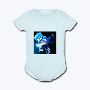 tooreon lofton gaming lame merch - Short Sleeve Baby Bodysuit