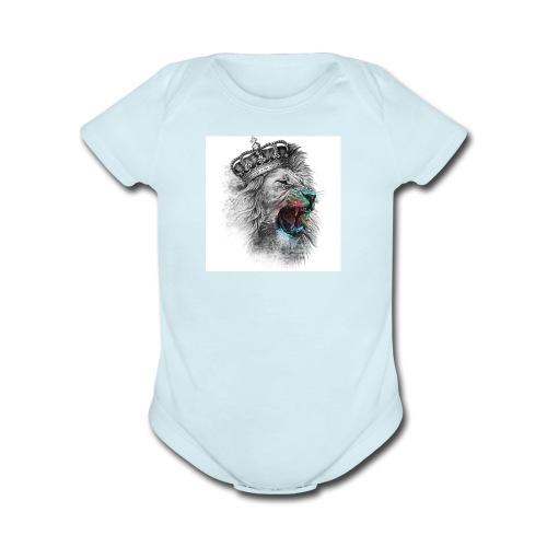 Domestic - Organic Short Sleeve Baby Bodysuit