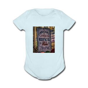 A Great America - Short Sleeve Baby Bodysuit