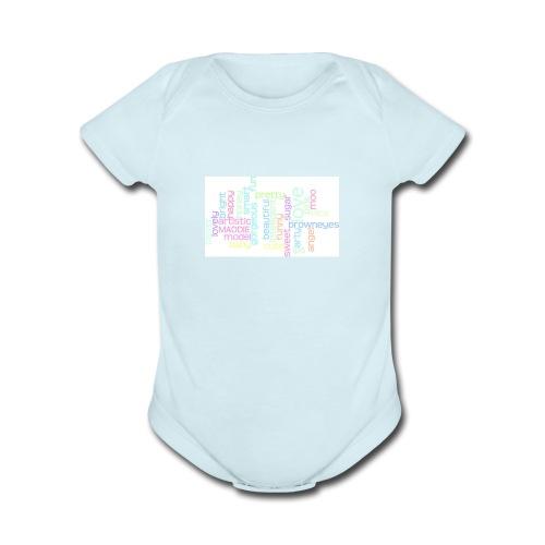 iphone maddie case - Organic Short Sleeve Baby Bodysuit