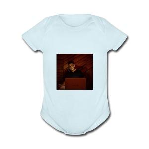Just Me - Short Sleeve Baby Bodysuit