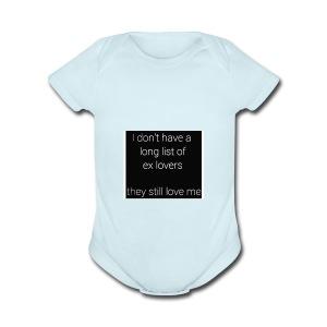 Ex Lovers - Short Sleeve Baby Bodysuit