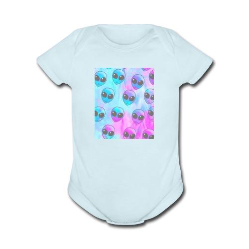 phone case - Organic Short Sleeve Baby Bodysuit