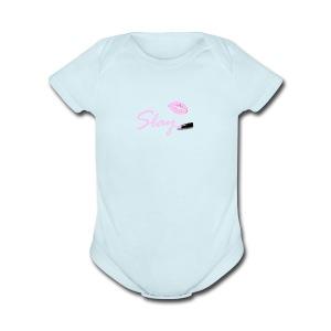 Lip Slay - Short Sleeve Baby Bodysuit