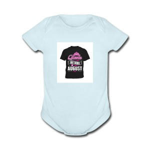 aout - Short Sleeve Baby Bodysuit