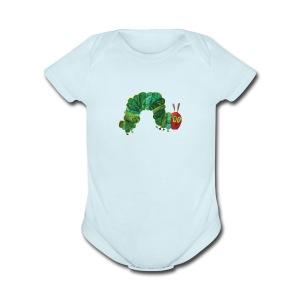 catapiller - Short Sleeve Baby Bodysuit