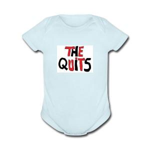 quits logo - Short Sleeve Baby Bodysuit