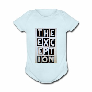 The Exception Campaign - Short Sleeve Baby Bodysuit