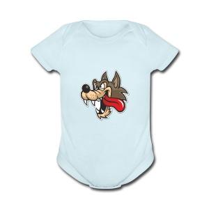 Wolf Gang Love - Short Sleeve Baby Bodysuit