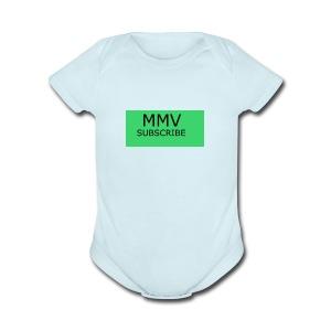 MMV BEST IN ONE - Short Sleeve Baby Bodysuit