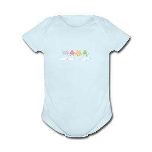 80s Video Games - Short Sleeve Baby Bodysuit