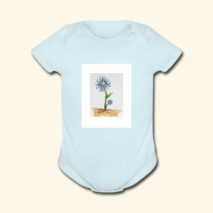 Daisy Family - Short Sleeve Baby Bodysuit