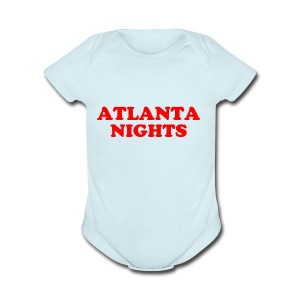 ATL NIGHTS - Short Sleeve Baby Bodysuit