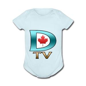 Dolynny TV Logo - Short Sleeve Baby Bodysuit
