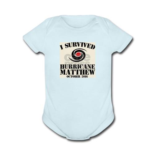 Matthew T-shirts - Organic Short Sleeve Baby Bodysuit